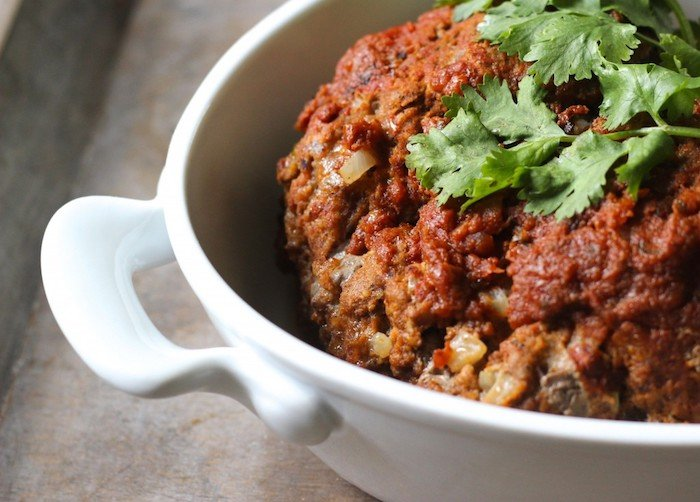 Whole30 Instant Pot Recipes Mexican Meatloaf