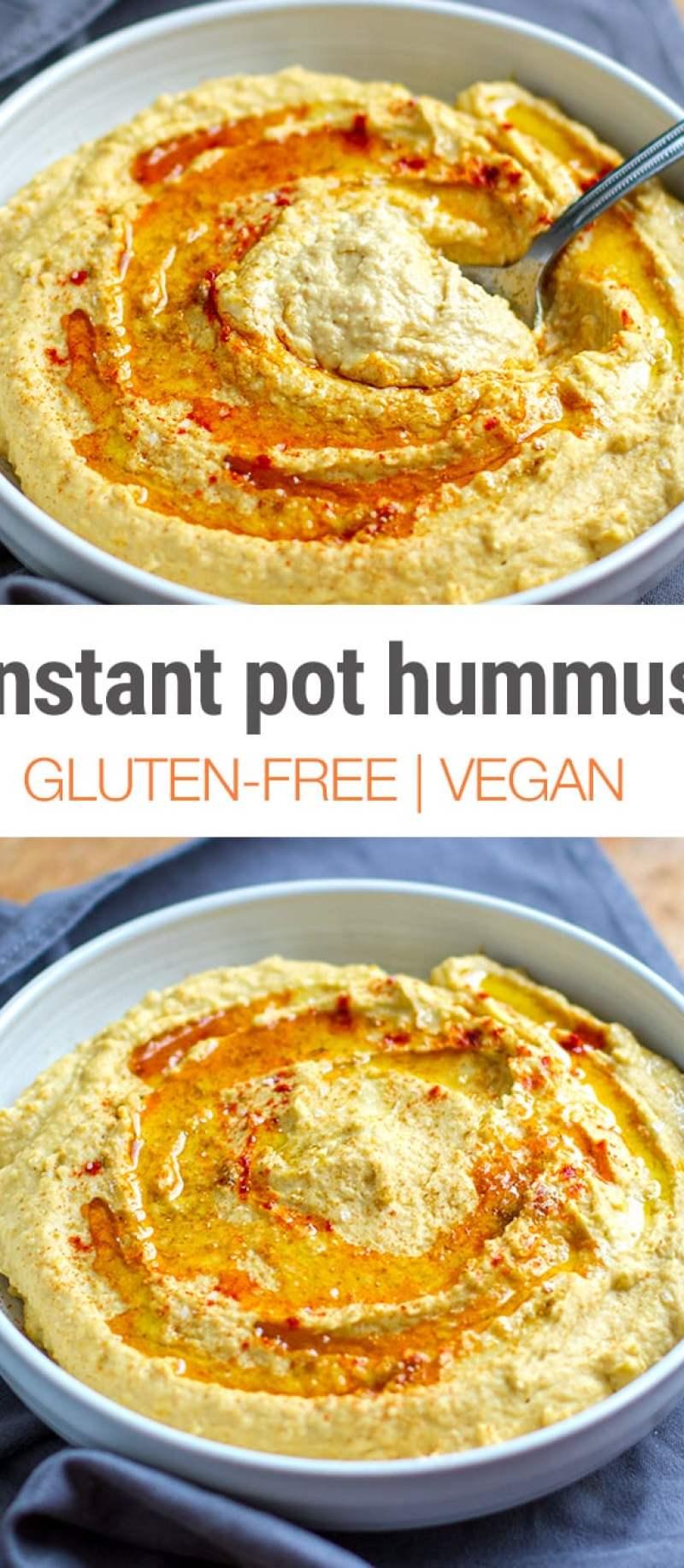 Instant Pot Hummus - Quick & Easy Recipe