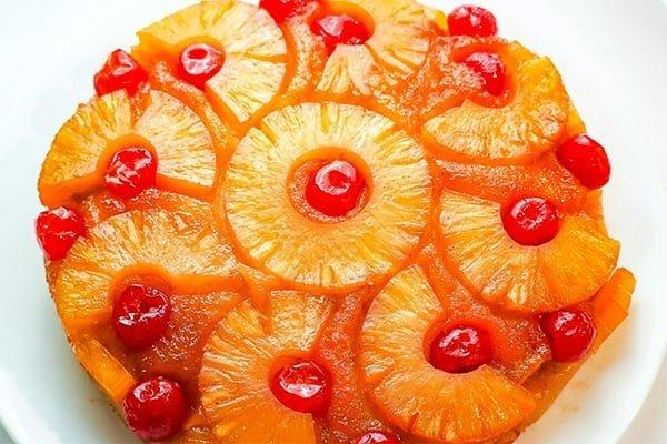 Instant Pot Pineapple Cake