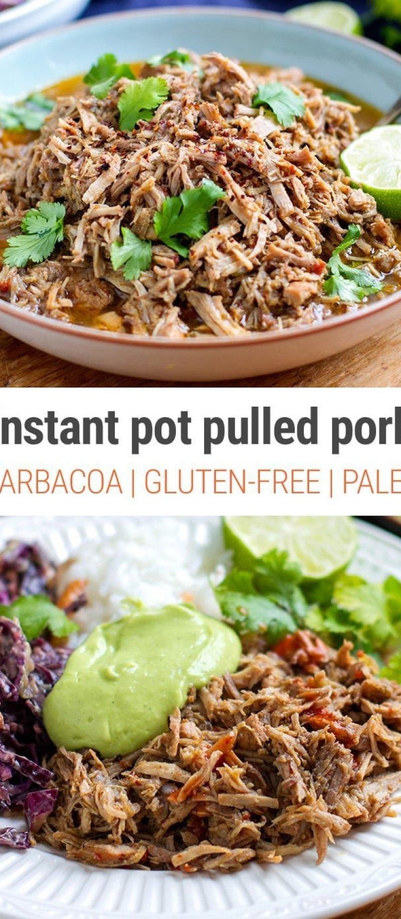 Barbacoa Pulled Pork - Instant Pot Recipe
