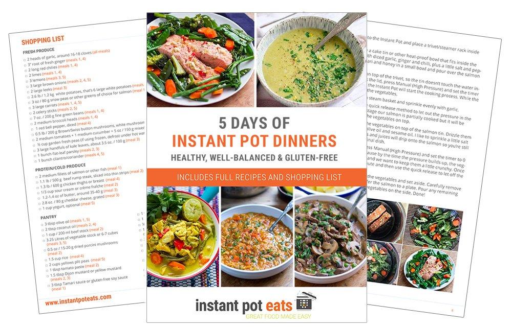 Instant Pot Dinners eBook