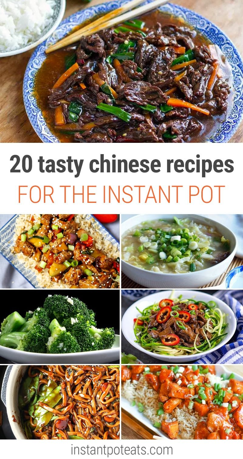 20 Tasty Chinese Recipes For Instant Pot   Char Siu Pork, Kung Pao Chicken,