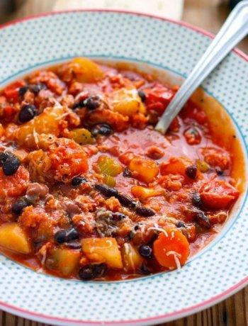 15 nourishing delicious instant pot indian recipes instant pot italian bean pork stew forumfinder Gallery