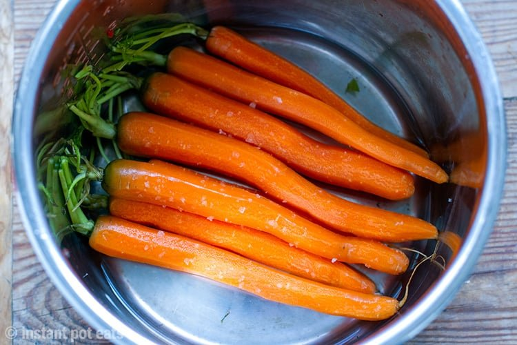 Image result for 5-Minute Instant Pot Honey Soy Carrots