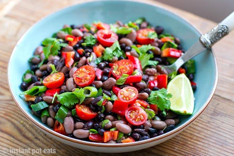 Instant Pot Mexican Bean Salad