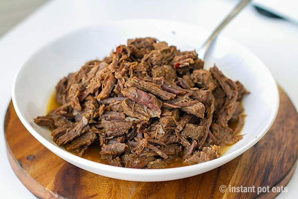 20 Clever Instant Pot Meal Prep Ideas Shredded Beef