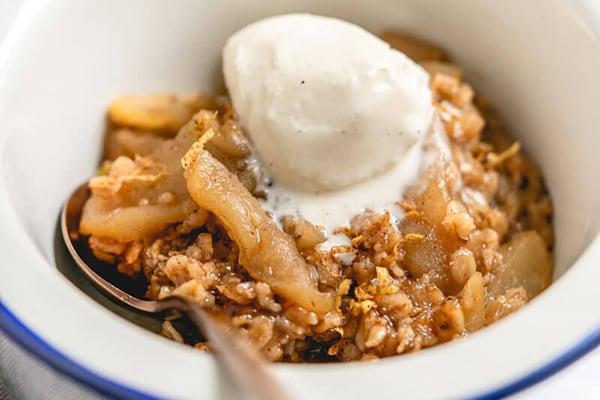 Best Instant Pot BBQ Party Recipes Apple Crisp