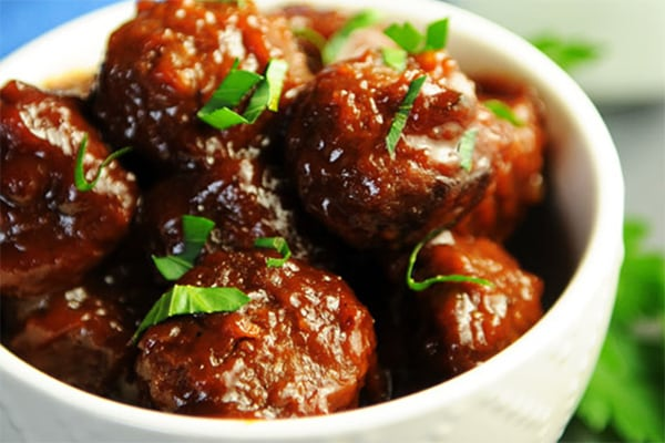 Best Instant Pot BBQ Party Recipes Vegan BBQ Meatballs