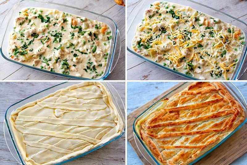 Instant Pot Chicken Pot Pie Baked To Finish