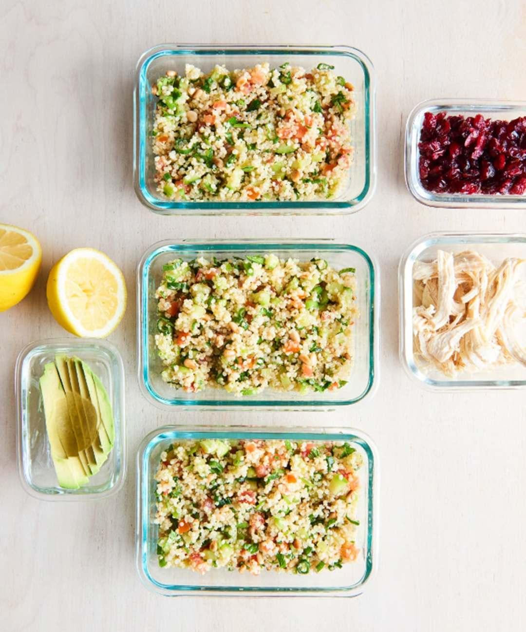 Instant Pot Quinoa Vegetable Tabbouleh Salad