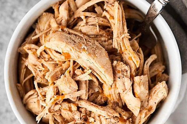 nstant Pot Shredded Chicken (From Frozen)