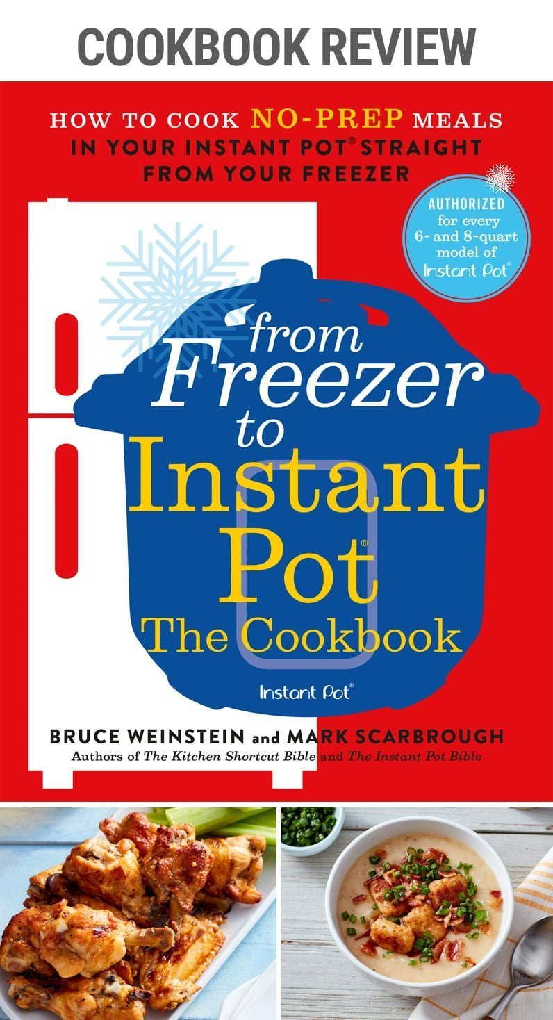 Cookbook Review: From Freezer to Instant Pot | #cookbook #frozenmeat #frozenchicken #thaw #defrost #pressurecooker #quickdinner #buffalochickenwings #salmon