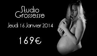 Séance Photo Femme enceinte Paris – Jeudi 16 Janvier 2014