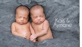 Photographe Jumeaux Paris / Kaïs et Aymane