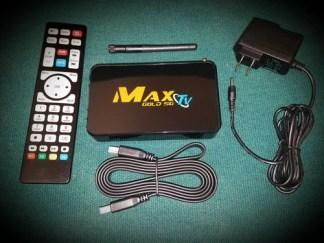 2018 MAXTV IPTV Set-Top-Box 2GB/8GB Quad Core 4K Kills any