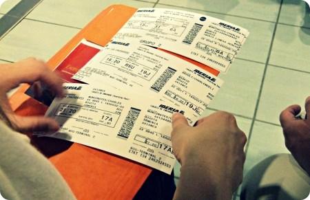 Los 3 tiquetes de aviones que tuvó tomar desde Nantes hasta Armenia, pasando por Madrid y Bogotá
