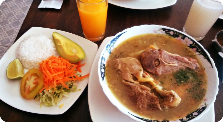 Photo d'un sancocho