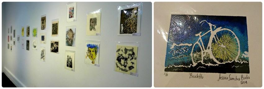 Dibujos de la exposición en Manizales