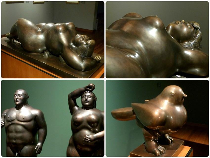 Sculptures de Botero au Musée Botero de Bogotá
