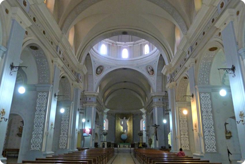 Interior de la catedral de Popayán