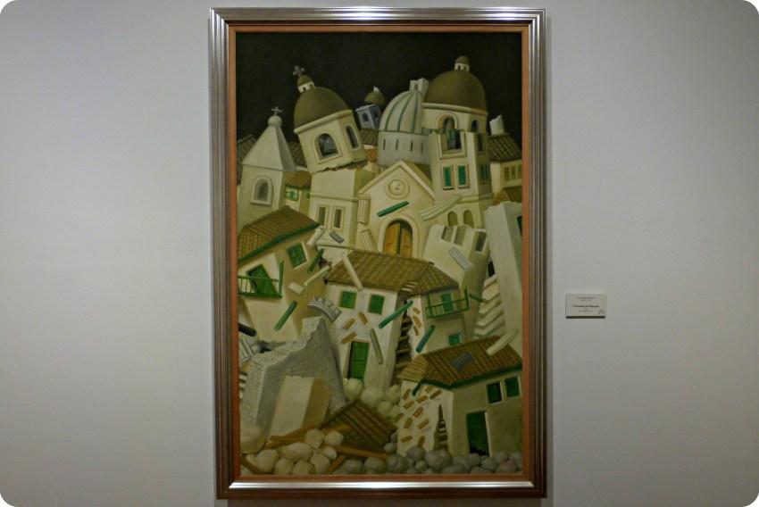 Cuadro de Botero expuesto en el Museo Botero de Bogotá