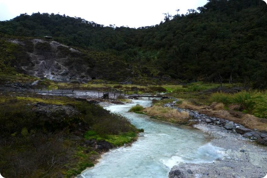 los termales de san juan en el parque natural Puracé