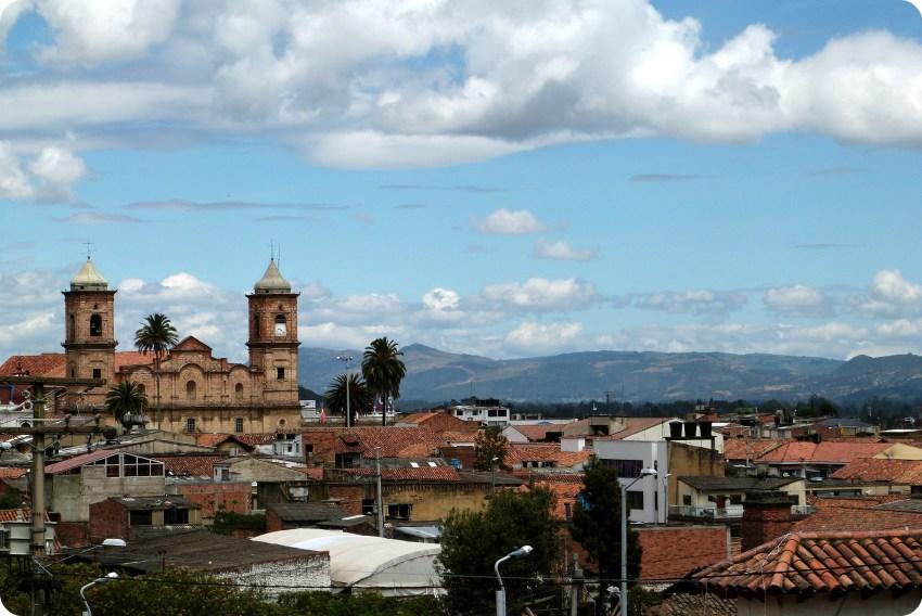 Les toits de Zipaquira