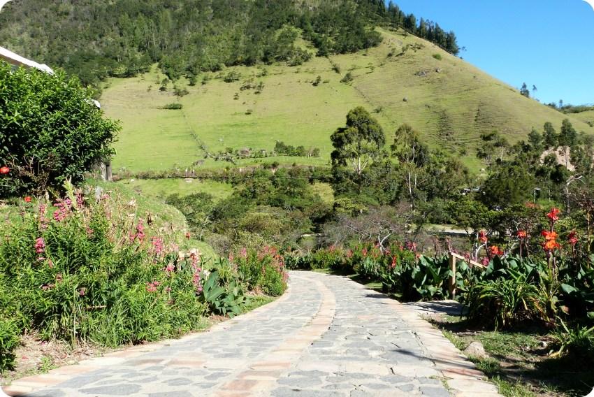 chemin à Aguas Tibias de Coconuco