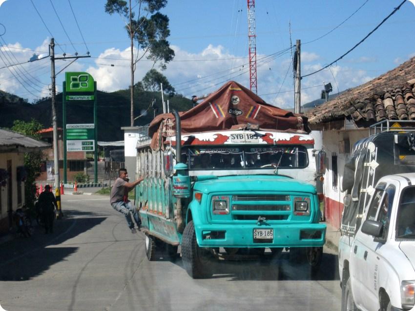 Chiva en Coconuco