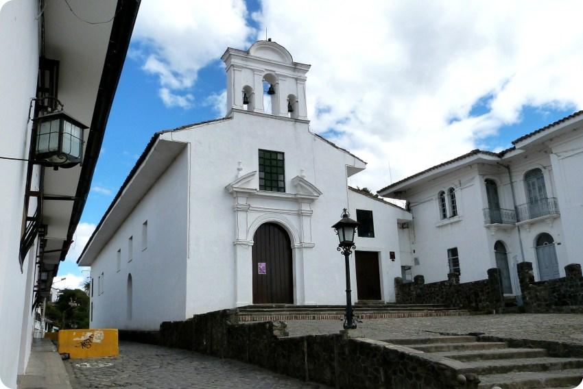 église la Ermita à Popayán