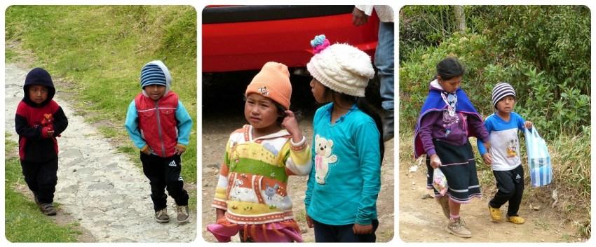 niños guambianos en silvia