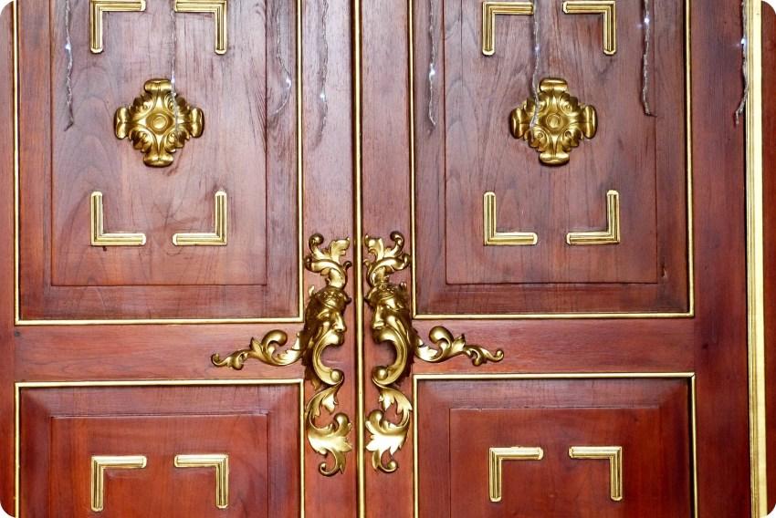 portes de l'église San Felipe de Ipiales