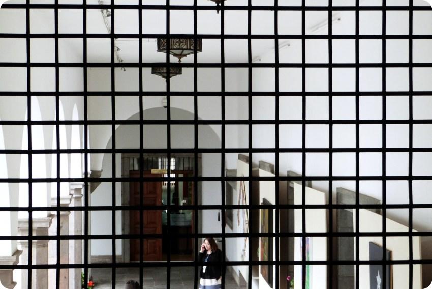 grille au Palacio Presidencial de Quito