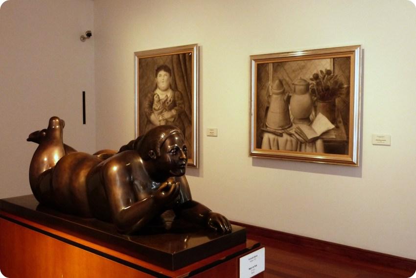 salle du Museo Botero de Bogotá
