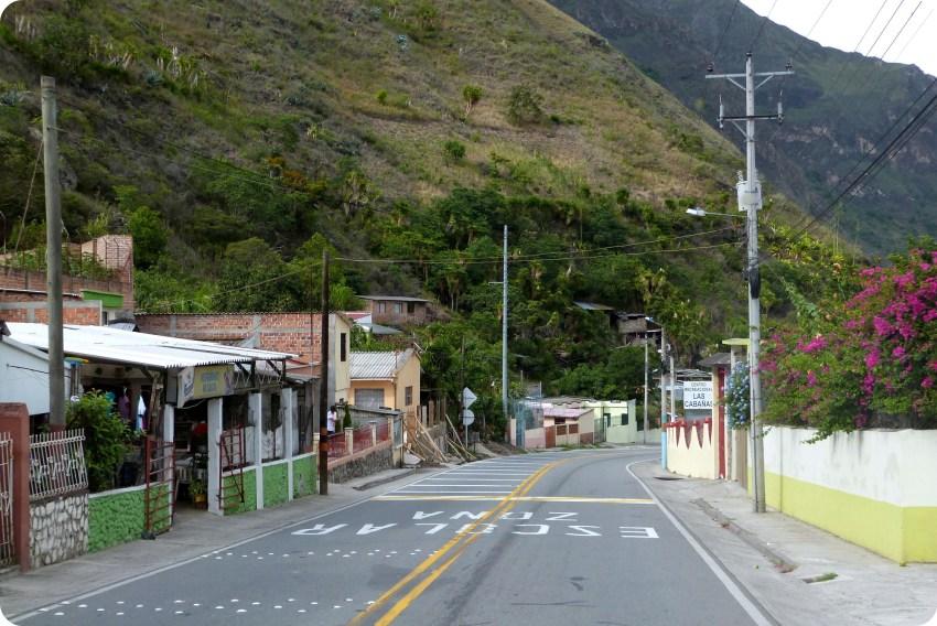 ruta del regreso en el sur de Colombia