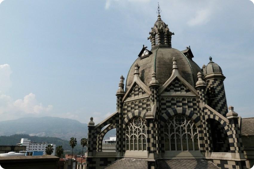 torre del Palacio de la Cultura de Medellín