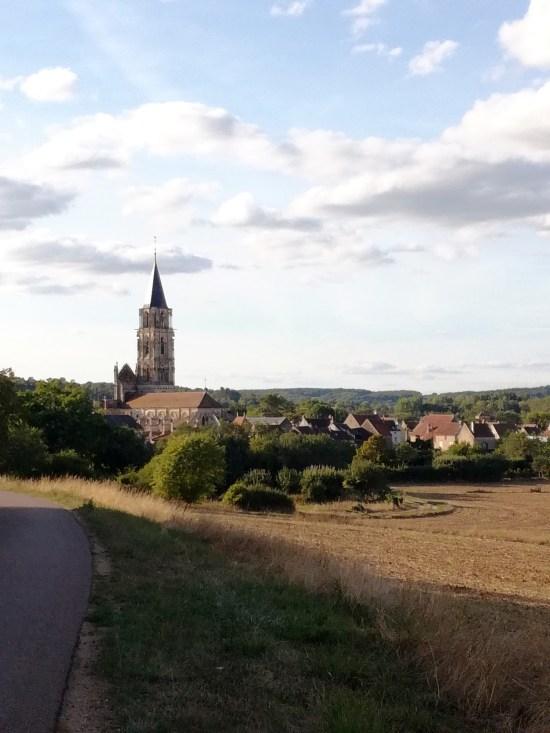 Église Notre-Dame de saint père yonne voyage vélo