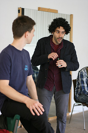 Instant Theatre Berlin - rehearsals, 2014
