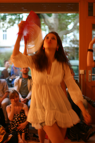 Instant Theatre Berlin-performance