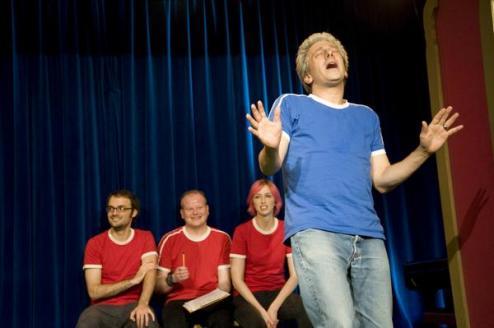 Brian Kapell improv comedy Berlin