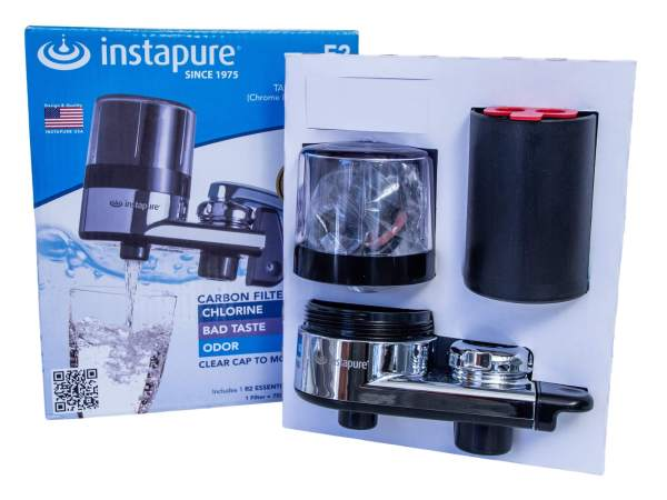 Instapure tap water filter. Household and kitchen water filter