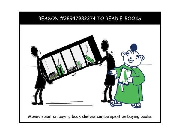 Reason #38947982374 to read e-books