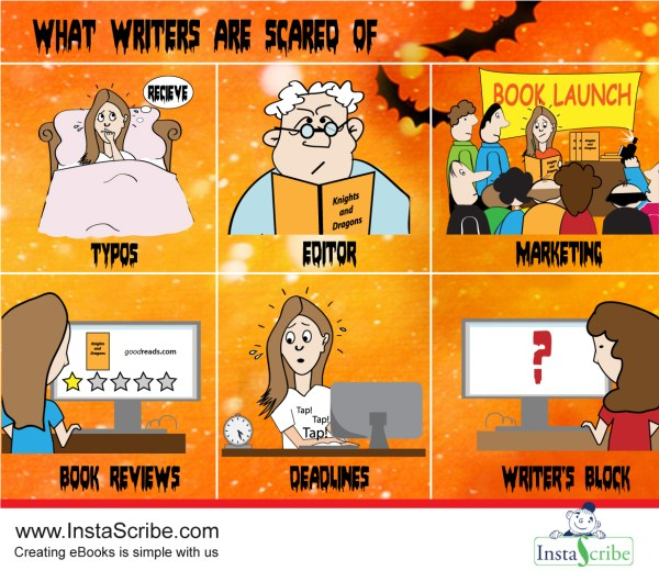 What Writers are Scared of