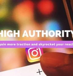high authority instagram