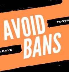 avoid bans