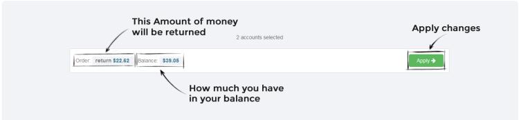 Instazood Total Return Money