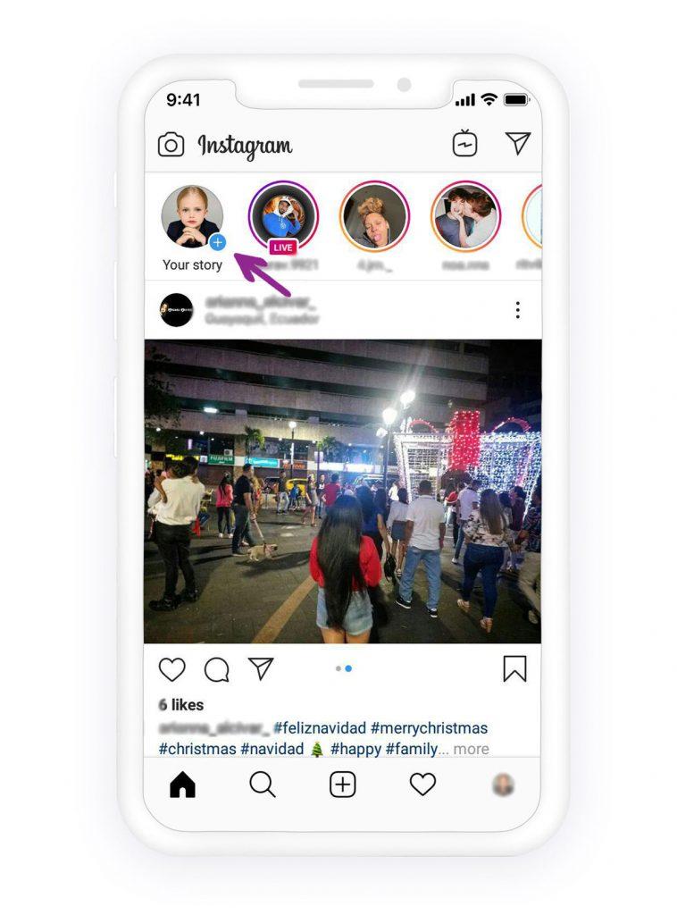 Comment marquer quelqu'un sur l'histoire Instagram 1