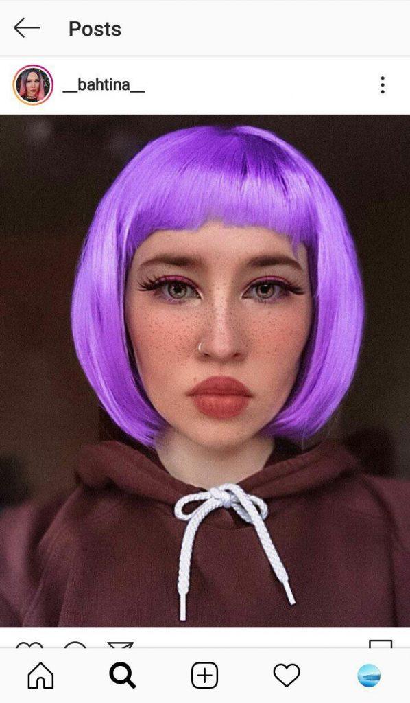 Filtre de visage Instagram