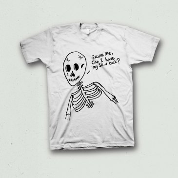 Sad Skeleton T-shirt