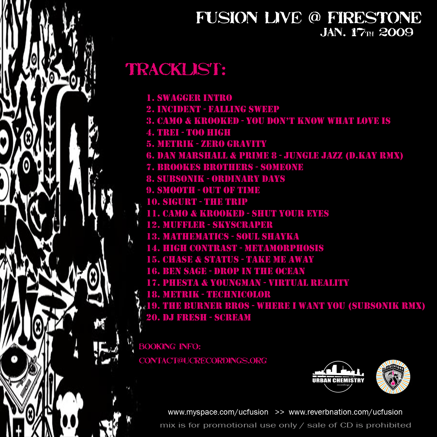 Club Firestone LIVE_back
